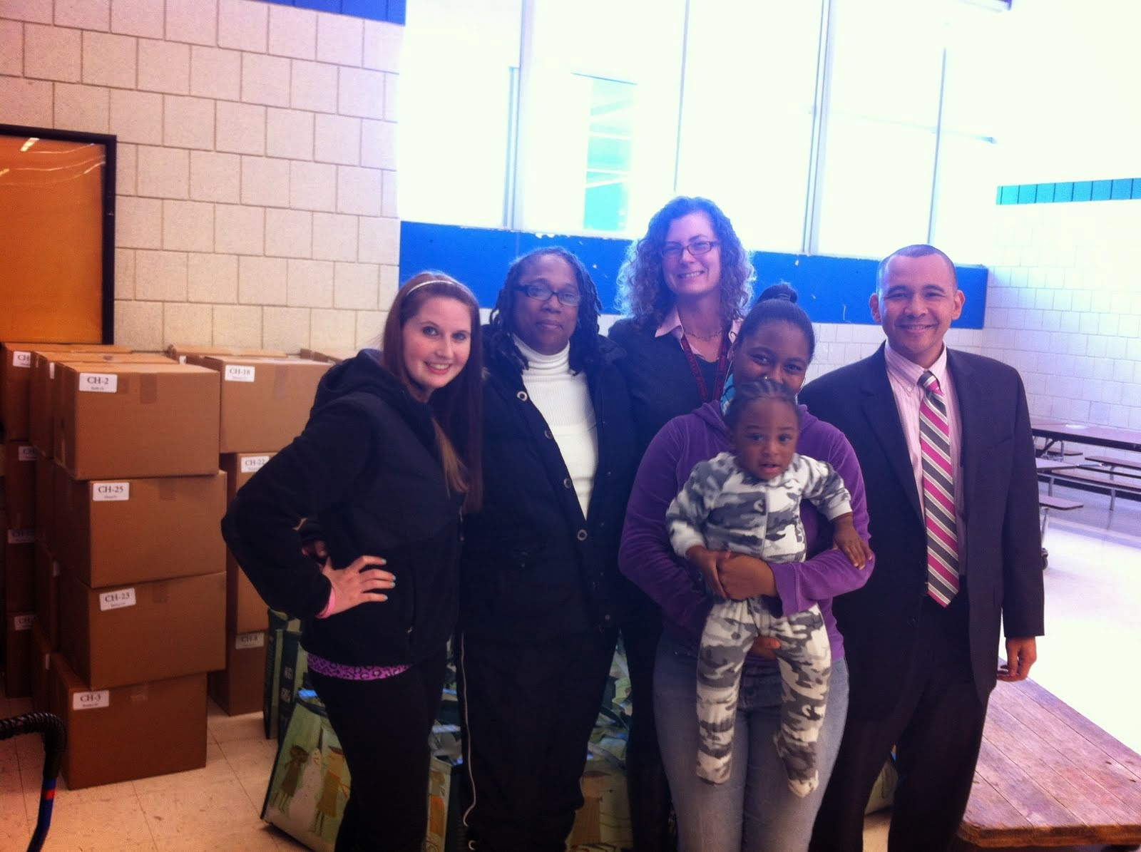 Reality Boston Church Donates Holiday Baskets & Gifts